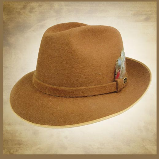 steve harvey brown hat – World Hats ba094907270